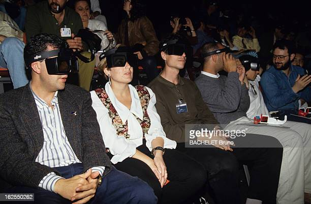 Universal Exposition Of Seville 1992 Animation Projections With 3D Electronic Glasses En Espagne à l'Exposition Universelle de Seville des...