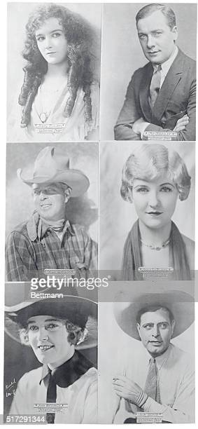 Mary Philbin Pat O'Malley Hoot Gibson Laura LaPlante Josie Sedgwick and Jack Hoxie 1925