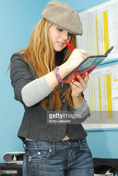 Universal Motown/Blackground recording artist JoJo signs autographs at J14's ''BacktoSchool shopping spree with JoJo'' at the Astor Place KMart store...