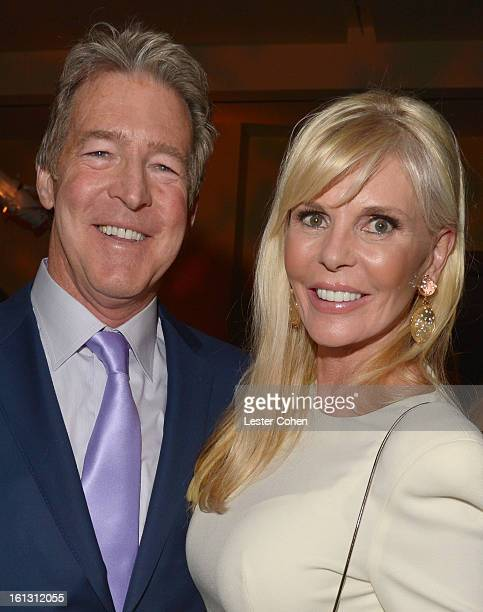 Universal Music Group Distribution CEO Jim Urie and wife Nanette arrive at the 55th Annual GRAMMY Awards PreGRAMMY Gala and Salute to Industry Icons...