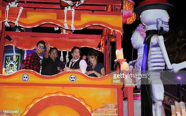 LIVES Universal Orlando Resort Fan Event Pictured Casey Jon Deidrick as Chad PetersonWoods Galen Gering as Rafael Rafe Hernandez Shawn Christian as...