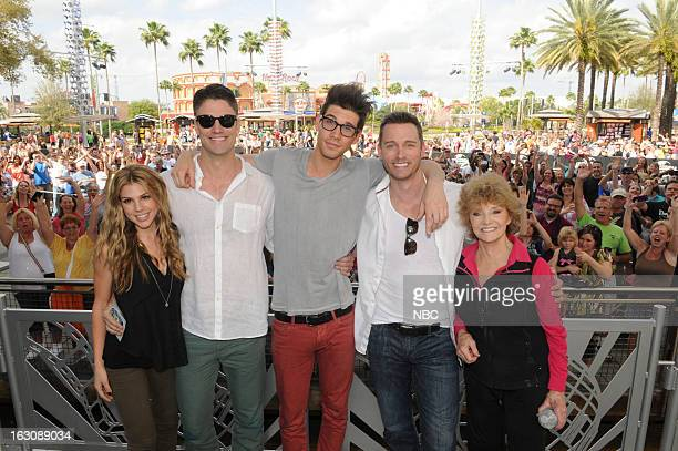 LIVES 'Universal Orlando Resort Fan Event' Pictured Kate Mansi James Scott Casey Jon Deidrick Eric Martsolf Peggy McCay