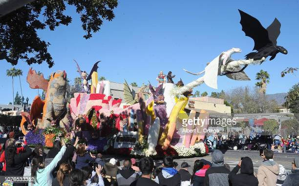 Universal Pictures and Dreamworks Animation How to Train Your Dragon The Hidden World at the 130th Rose Parade Presented By Honda The Melody Of Life...