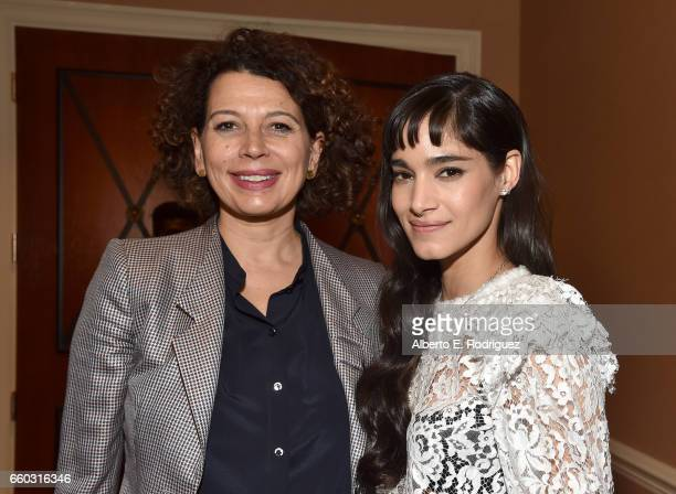 Universal Pictures Chairman Donna Langley and actor Sofia Boutella at CinemaCon 2017 Focus Features Celebrating 15 Years and a Bright Future at...