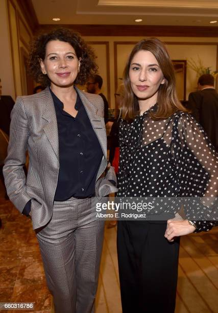 Universal Pictures Chairman Donna Langley and director Sofia Coppola at CinemaCon 2017 Focus Features Celebrating 15 Years and a Bright Future at...