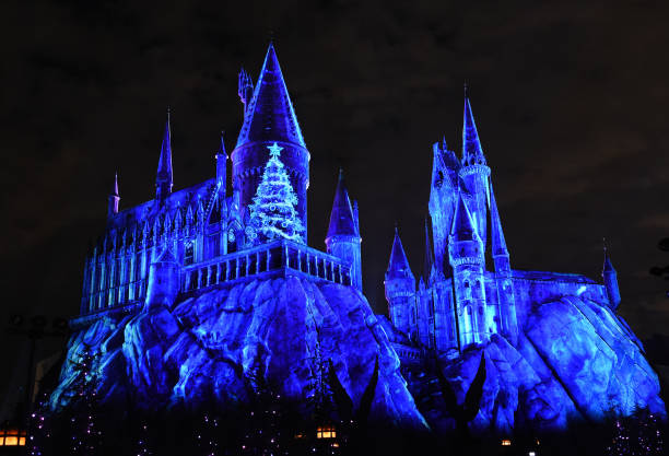 universal studios hollywood unwraps christmas in the wizarding world of harry potter with the