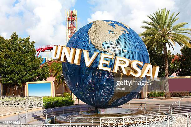 universal studios orlando theme park - global communications stock pictures, royalty-free photos & images