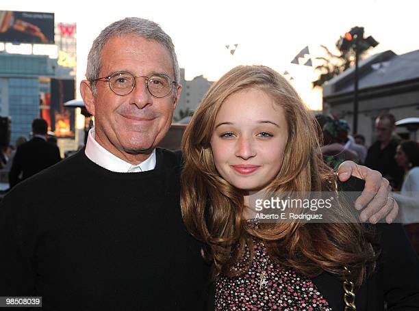 Universal Studios president and COO Ron Meyer and daughter Carson Meyer attend the Children Mending Hearts 3rd Annual Peace Please Gala held at The...