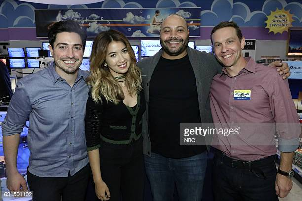EVENTS 'Universal Television TCA Studio Day' Pictured Ben Feldman Nichole Bloom Colton Dunn Jonathan Green Executive Producer Universal Television...