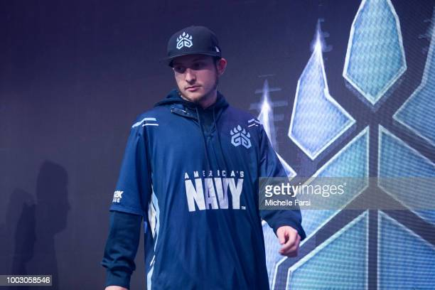 Grizz Gaming poses for portrait after the game against Mavs Gaming on July 21 2018 at the NBA 2K Studio in Long Island City New York NOTE TO USER...