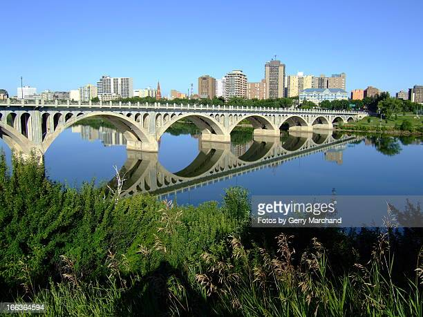 University Bridge Reflection