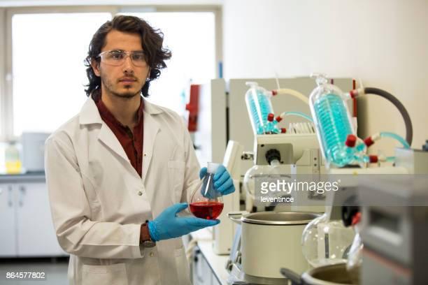University Chemistry Laboratory Research Student