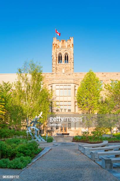 university college at western university in london ontario canada - london ontario stock photos and pictures