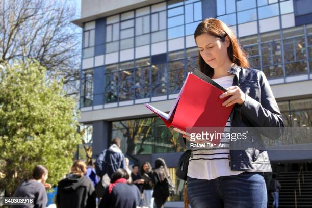 University college woman student