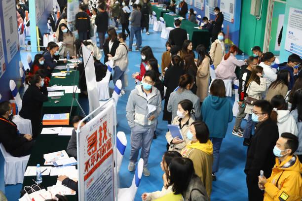 CHN: Job Fair For Graduates Held In Nanchang