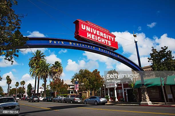 University Heights Viertel von San Diego