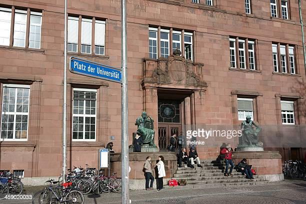 university in freiburg im breisgau - freiburg im breisgau stock-fotos und bilder