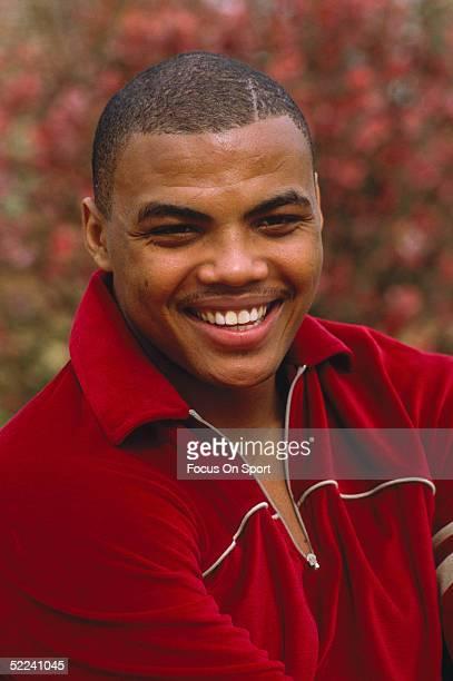 University of Auburn's Center Charles Barkley poses for a circa 1980s photo