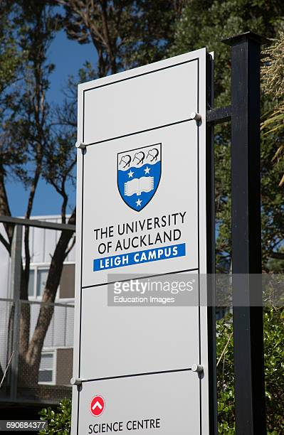 University of Auckland New Zealand the Leigh Campus Near Warkworth North island