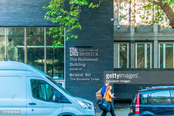 University of Bristol Students' Union Richmond Building, 105 Queens Road, Bristol. Avon, England, UK.