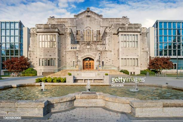 university of british columbia in vancouver canada - ubc stock pictures, royalty-free photos & images