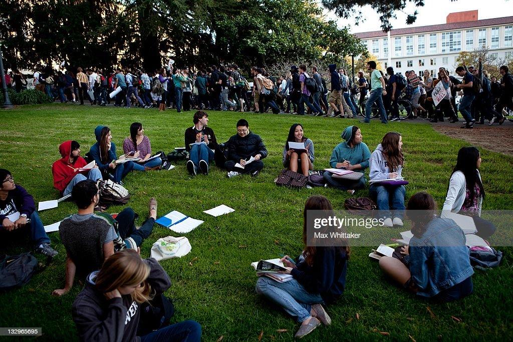 """Open University"" Strike Held At UC Berkeley : News Photo"