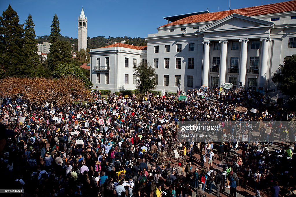 """Open University"" Strike Held At UC Berkeley : News Photo"