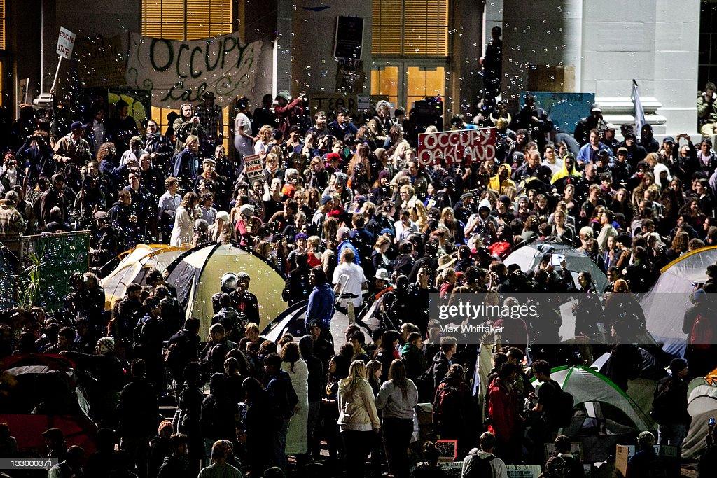 'Open University' Strike Held At UC Berkeley : News Photo