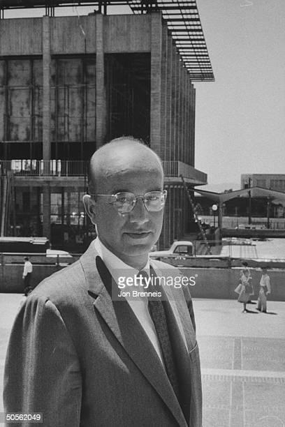 University of California President Clark Kerr