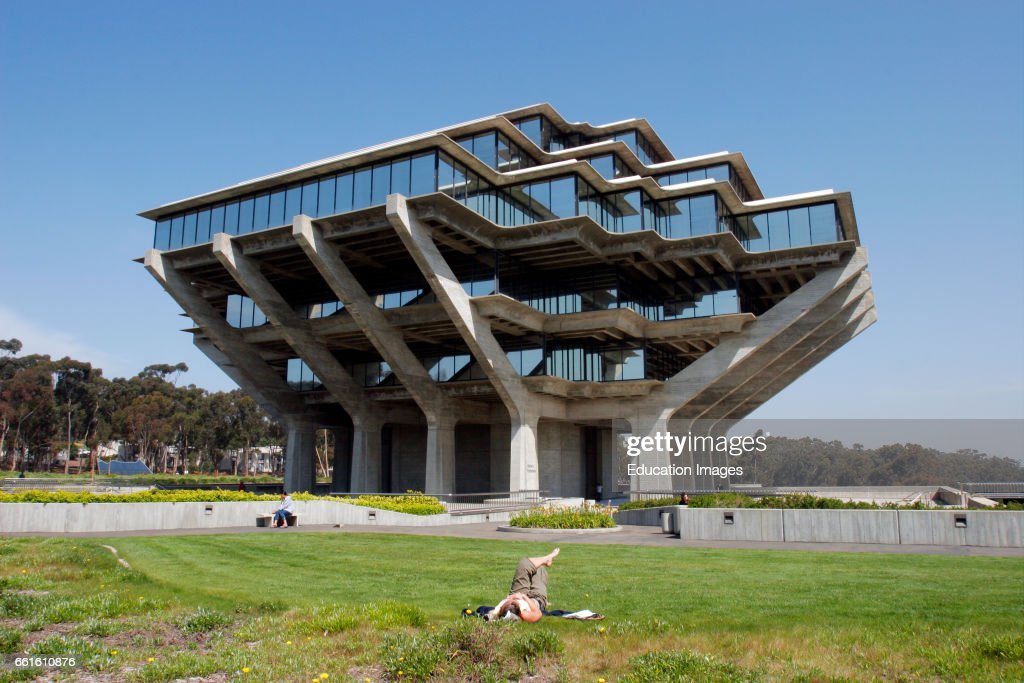 University Of California, San Diego, Geisel Library, La Jolla ...