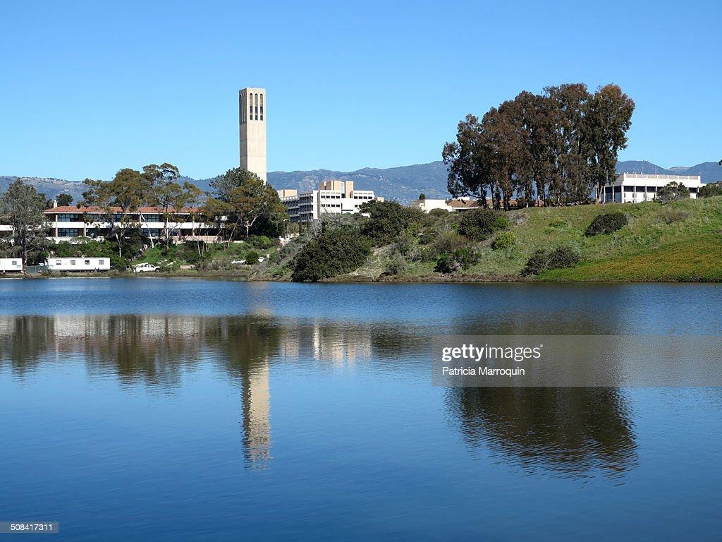 University of California Santa Barbara Lagoon : Stock Photo