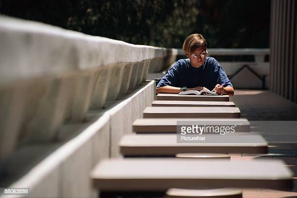 university of california student reading - uc berkeley stock pictures, royalty-free photos & images