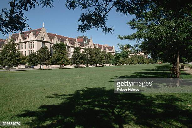 university of chicago campus - university of chicago stock pictures, royalty-free photos & images