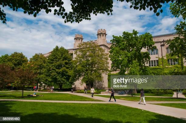 university of chicago campus - シカゴ大学 ストックフォトと画像