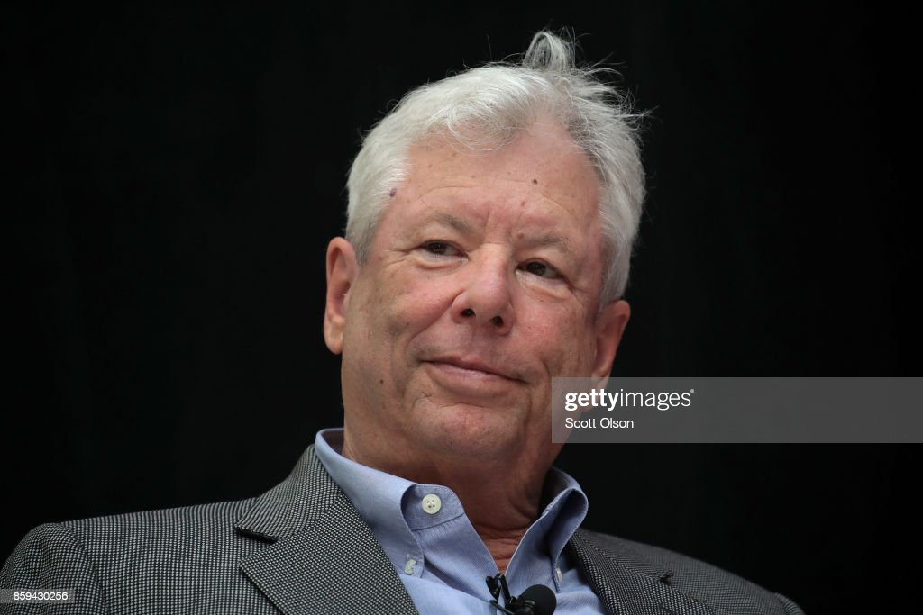 University Of Chicago Professor Richard Thaler Wins Nobel Prize In Economics : ニュース写真