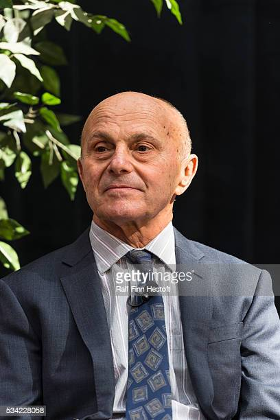 University of Chicago professors Eugene F. Fama and Lars Peter Hansen celerate their receip of the 2013 Nobel Prize in Economics. The pair spoke at a...