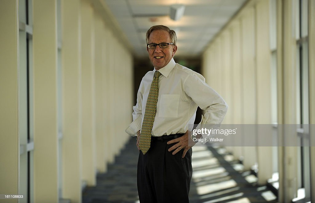 University of Colorado Hospital CEO Bruce Schroffel poses for a