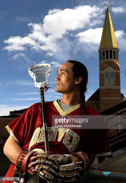University of Denver freshman lacrosse player Zach Miller is a Native American from Steamburg New York He was just selected Big East player of the...