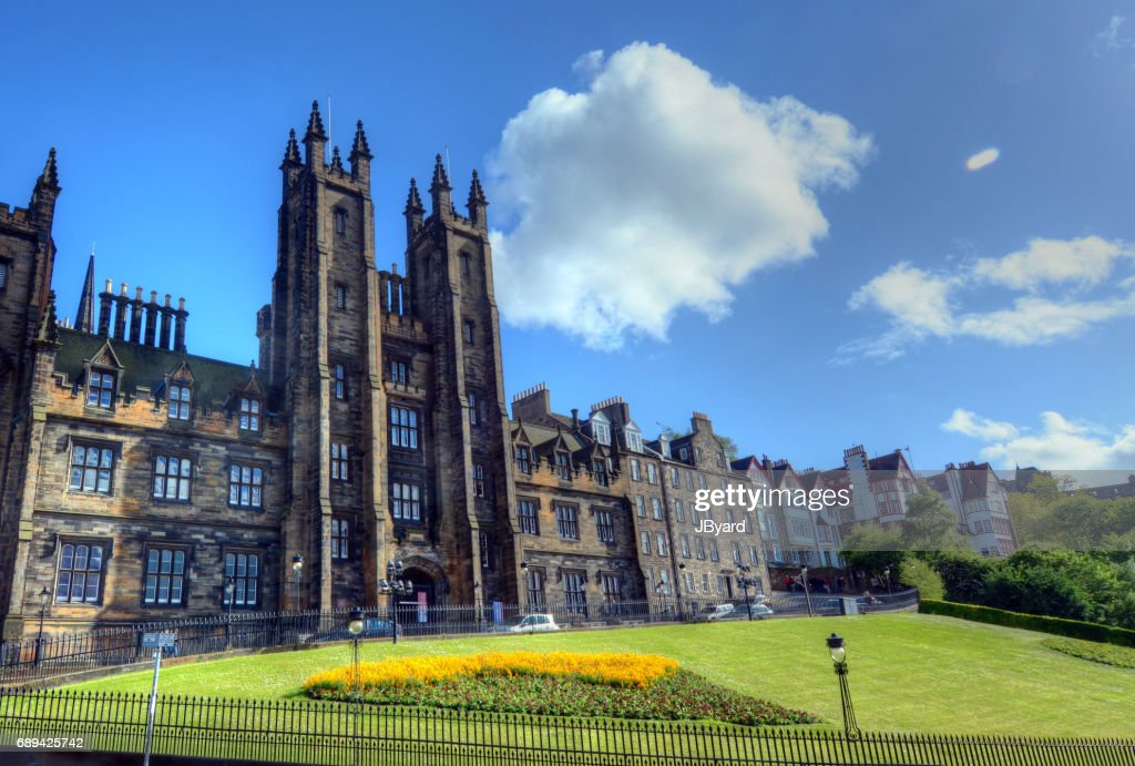 University of Edinburgh : Stock Photo