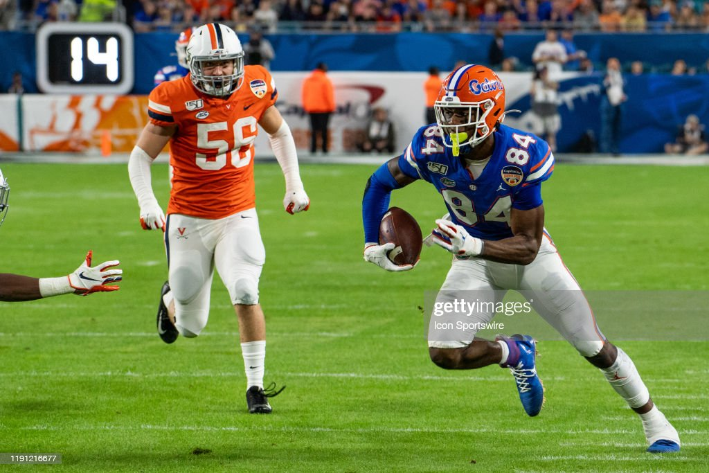 COLLEGE FOOTBALL: DEC 30 Orange Bowl - Florida v Virginia : News Photo