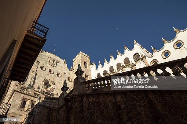 University of Guanajuato, in the Historic District. It is one of the emblematic buildings of the city.
