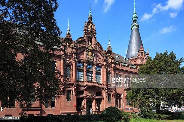 University of Heidelberg University Library Heidelberg renaissance art nouveau pluralism Late historicism