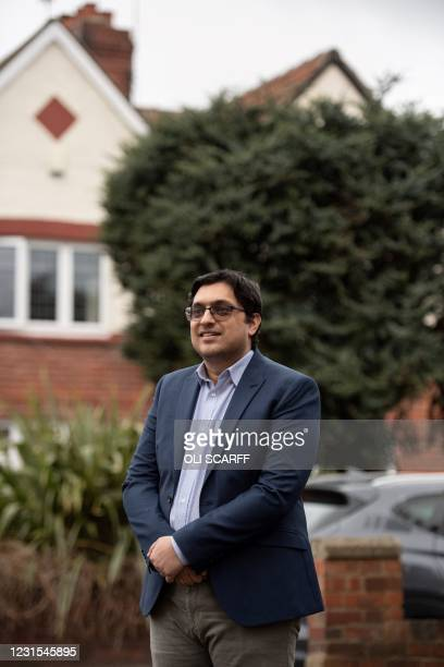 University of Hull Senior Lecturer in Marketing and Business Strategy, Dr Haseeb Shabbir poses for a photograph in West Yorkshire, northern England...