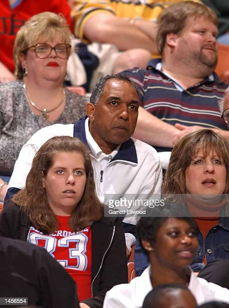 University of Kentucky head coach Tubby Smith takes in the game between the Columbus Riverdragons and the Greenville Groove at the Bi-Lo Center in...