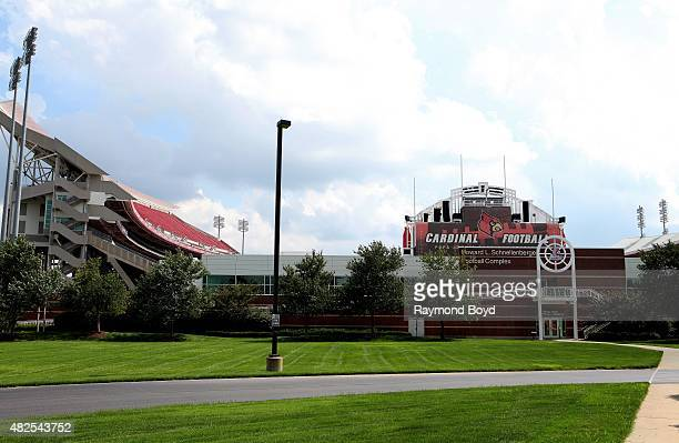 University of Louisville Papa John's Cardinal Stadium home of the Louisville Cardinals football team on July 19 2015 in Louisville Kentucky