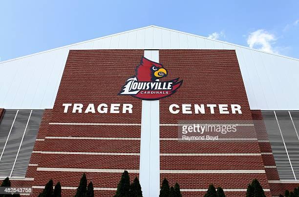 University of Louisville Trager Center indoor practice facility of the Louisville Cardinals football team on July 19 2015 in Louisville Kentucky