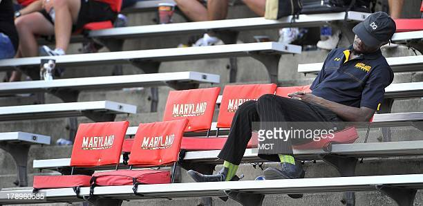 University of Maryland fans found the boring in the fourth quarter of a big Maryland victory over Florida International at Byrd Stadium in College...