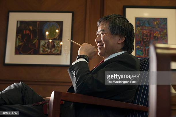 University of Maryland President Wallace Loh talks about aspirations of building a luxury hotel and conference center across from campus in College...
