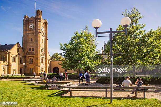 university of melbourne - south lawn - university stock pictures, royalty-free photos & images