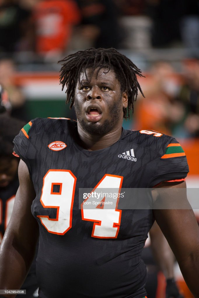 another chance 9e14e 31f46 University of Miami Hurricanes Defensive Lineman Tito ...